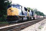 New SD70AC on an intermodal/juice train