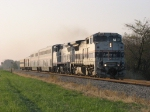 AMTK 519 & 510 with the Hoosier State