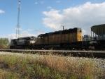 UP 3687 & NS 9710