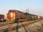 BNSF 602, MRL 256, BNSF 6385 & NS 6153