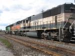 BNSF 8069, 342 & 9734
