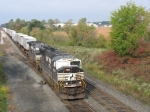 NS 2600 & 9271 race east with 20E