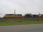 UP 4343 & NS 6627