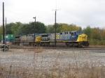 CSX 682 & 663