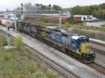 CSX 7627, 607 & 5114 starting south again with Q643-19