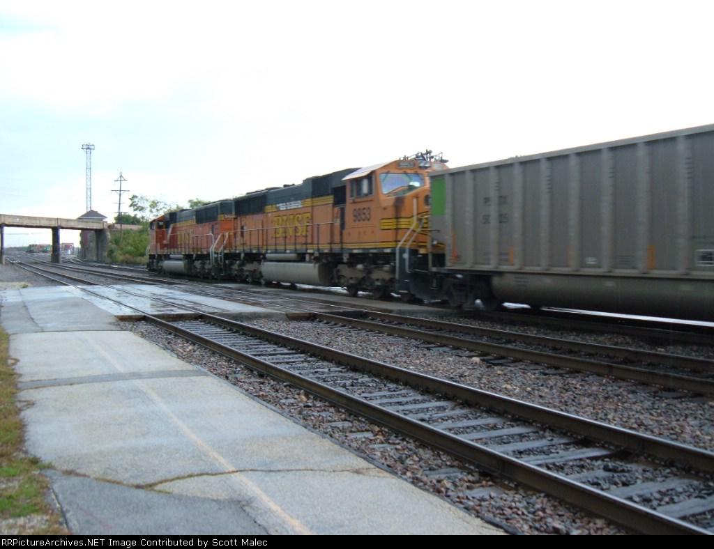BNSF 9455 & 9853