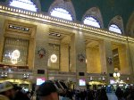 Christmas decorations at Grand Central Terminal