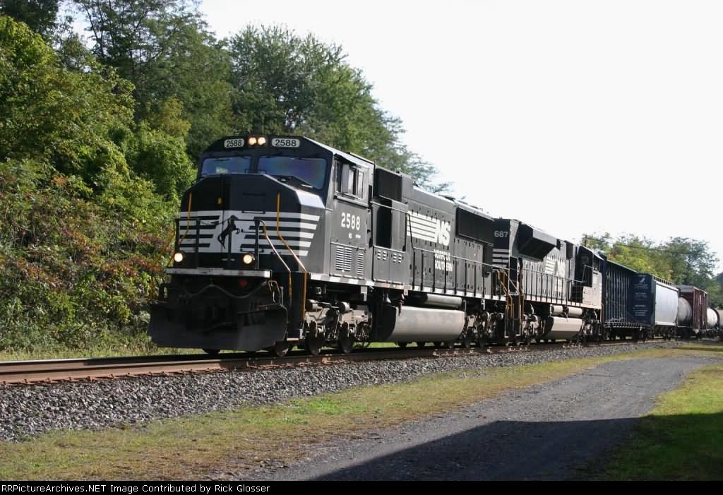 WB Manifest Train 19G @ 1003 hrs.