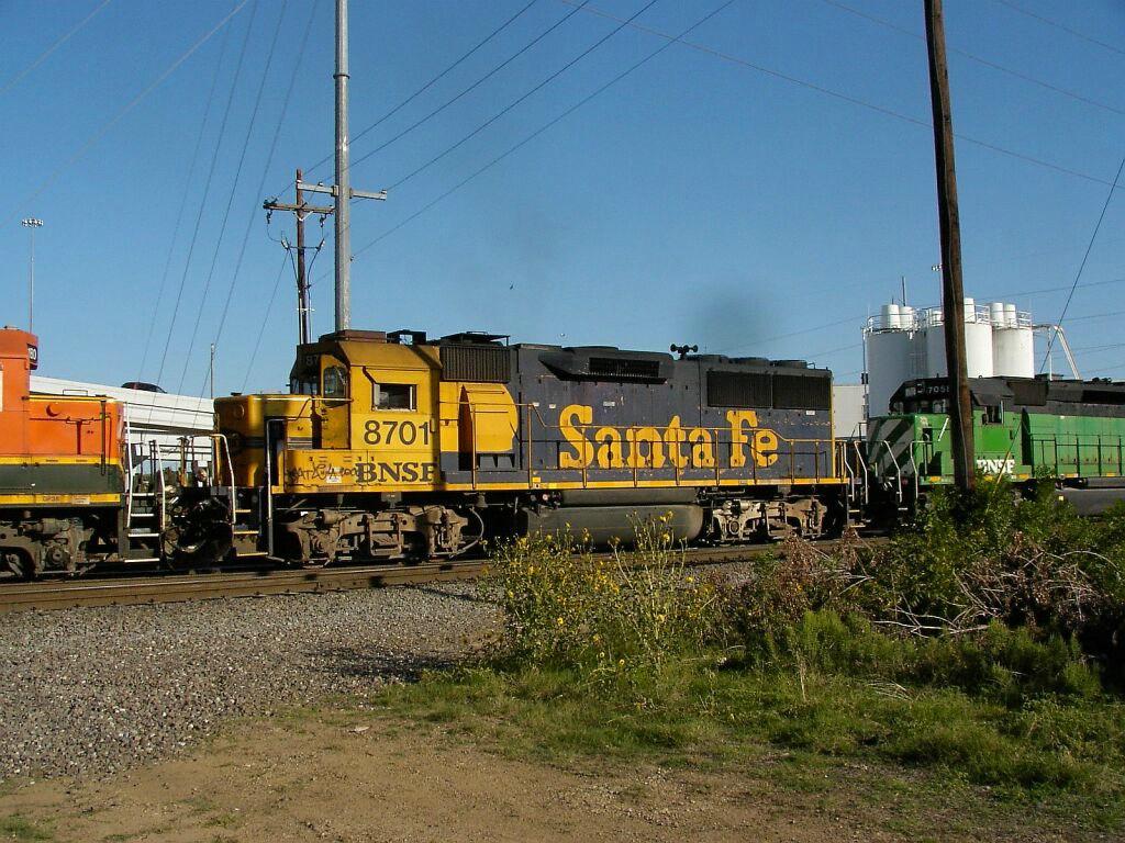 BNSF 8701