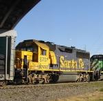BNSF 8701 (ex-ATSF)