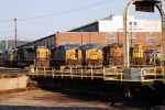 CSX 4590 and friends rest