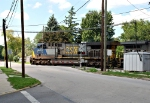 CSX 645 crossing Columbus Ave.