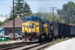 CSX 53 and 382 eastbound