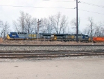 CSX 692 and 5015