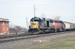 CSX 8543 and HLCX 6408
