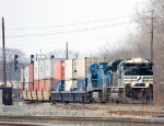 NS 2701 and NS 8467 with an e/b stacker