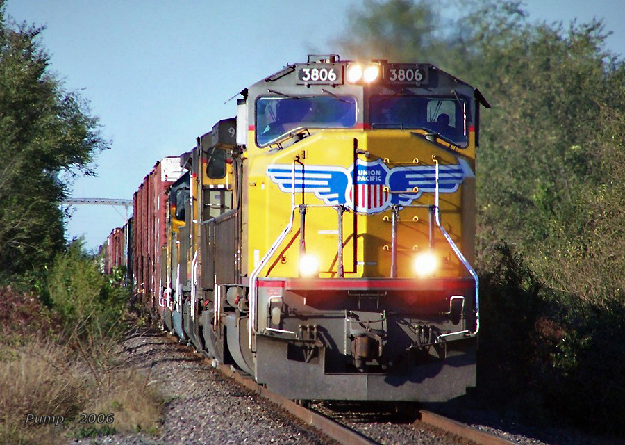Southbound UP Manifest Train