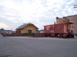 Cotton Belt and SSW Caboose