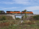 BNSF 4629 over the ex-Wabash