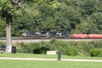 Westbound on Horshoe Curve