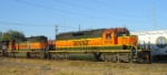 BNSF 8016 and 7915
