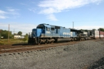 NS 2580 in original blue trundles west with 23N