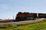 #4509 ON THE POINT OF A BNSF GRAIN TRAIN