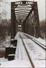 A BRIDGE ON THE ELLIS & EASTERN RAILROAD