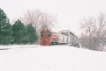 A COLD WINTER AFTERNOON ON THE ELLIS & EASTERN RR