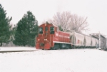 A COLD WINTER AFTERNOON ON THE ELLIS & EASTERN RR, #2