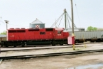 FORMER CP RAIL UNIT ON THE DM&E AT HURON, SD, #2