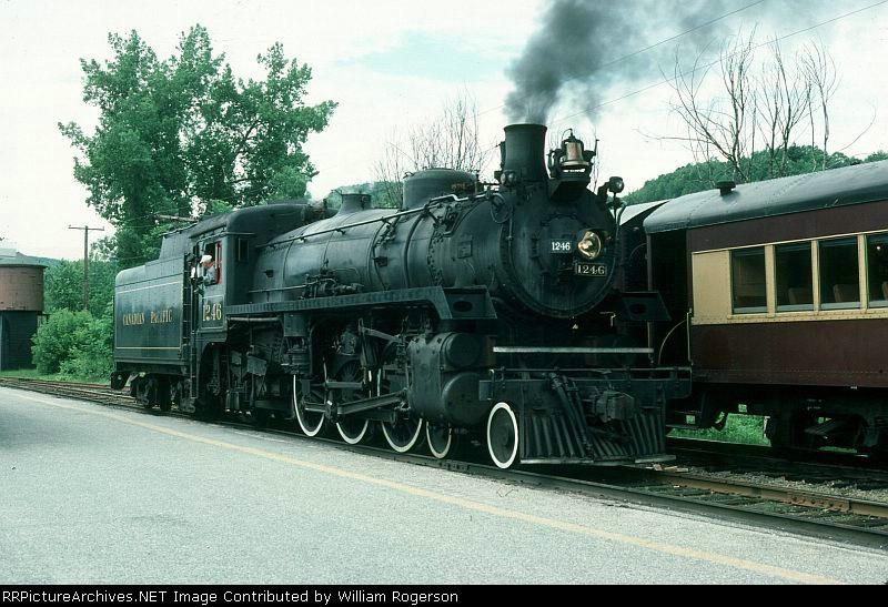 Canadian Pacific Railway (4-6-2) Steam Locomotive No. 1246
