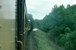 View from Steamtown's Tourist Train