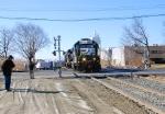 Crossing Union Avenue