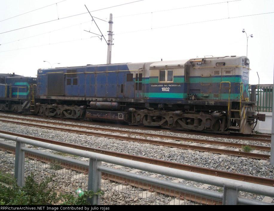 Ferrocarril del Pacifico S.A.(Fepasa) D-1802
