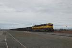 Northbound Alaska Railroad (ARR) Unit Coal Train