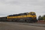Alaska Railroad (ARR) EMD SD70MAC's No. 4010 and No. 4008