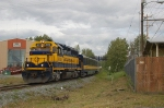 Southbound Alaska Railroad (ARR) Passenger Train led by EMD GP40-2 No. 3015