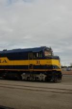 Alaska Railroad (ARR) EMD F40PH No. 31
