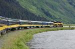 """Allaska Railroad (ARR) """"Glacier Discovery"""" Passenger Train"""
