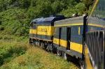 Alaska Railroad (ARR) EMD F40PH No. 31 and Baggage/Steam Generator Car No. 111