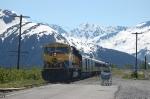 "Alaska Railroad (ARR) ""Glacier Discovery"" Passenger Train"