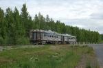 """Alaska Railroad's """"Hurricane Turn"""" Passenger Train"""