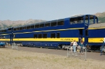 Alaska Railroad (ARR) Ultradome Car No. 654