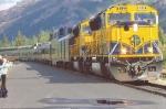 Alaska Railroad (ARR) EMD SD70MAC No. 4321 and No. 4317