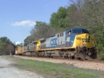 CSX 368 on Q669 heading south