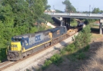 CSX 7616 on Q124 heading north