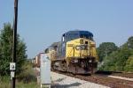 CSX 7769 heading south