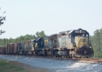 CSX 8350 on Q549 heading south