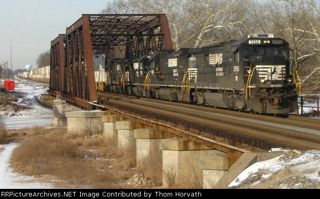 NS 214 is eastbound over CR's Shared Assets Lehigh Line